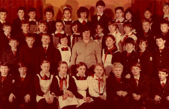 Школа 1 города Коммунара.Выпускники 1988.